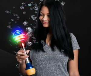 Patriotic Light up Bubble Wand