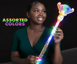 LED Magical scepter princess wand