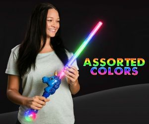LED Unicorn Sword