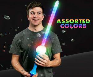 LED Flashing Bubble Sword