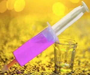 Jello Glo Shot Injector - Pink