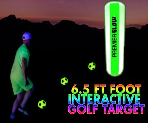 LED Foot Golf Target