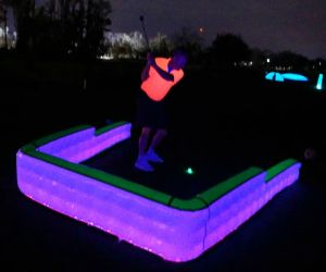 LED Inflatable Tee Box