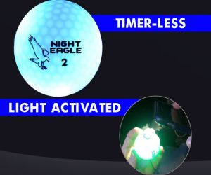 Night Eagle LED Golf Ball - Blue