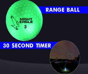 30 Second LED Range Golf Ball - Green