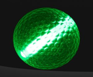 Green Pro Glow Night Golf Balls
