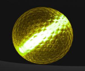 Yellow Pro Glow Night Golf Balls