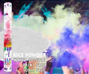 Holi Color Powder Cannon - White