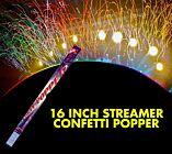 Streamer Confetti Popper (16 Inches)