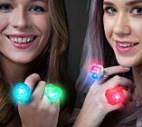 Light-up Diamond Rings (box of 24/pcs)