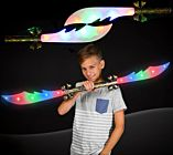 "42"" Light-up Double Saber Sword with Sound"