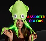 Flashing Squid Hat
