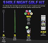 Nine-Hole Night Golf Package