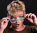 LED Pixel Sun Glasses