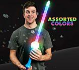 LED Flashing Bubble Sword