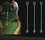 LED Miniature Golf Flag Stick - RBG